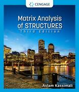 Matrix Analysis Of Structures By Aslam Kassimali English Hardcover Book Free S