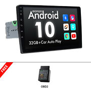 Obd+latest Android 10 9 Ips Lcd Car Stereo Head Unit Gps Navigation Dsp Carplay