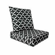 Bossima Cushions For Patio Furniture Outdoor Water Repellent Fabric Deep Seat