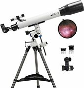 Telescopes For Adults, 70mm Aperture And 700mm Focal Length Professional Astronomy