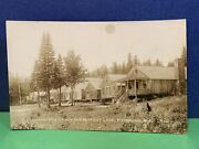 Rppc Pittsburg Nh Camp Otter Cabins Cars 416