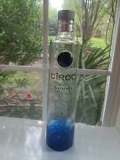 Ciroc Bottle Blue Snap Frost Vodka Empty 750ml France Crafting Brewing Excellent