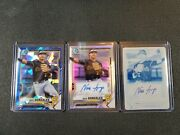 2021 Nick Gonzales Bowman Lot. 1/1 Printing Plate Auto Refractor 141/499...