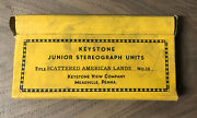 Stereoview Keystone Junior Scattered American Lands 25 Stereograph Photo Cards