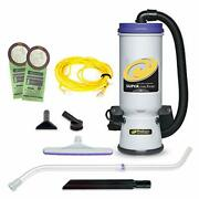 Proteam Backpack Vacuums Super Coachvac Commercial Backpack Vacuum Cleaner With