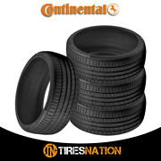 4 New Continental Contisportcontact 5p 245/35/21 96y Performance Summer Tire