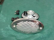 Sea Ray Boat Horn Flush Mount Stainless Cover 12 Volt New 2 Connector