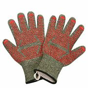 Extreme Heat Resistant Grill Gloves 932°f Fireproof Kitchen Mitts For Cooking...