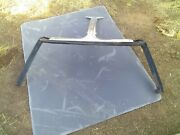 1972-78 Chevrolet Corvette T Top Windshield Post With Chrome Top Molding.