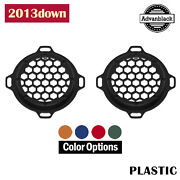 Color Match Advanblack Xbs Hex Speaker Grills For 2013down Electric Street Glide