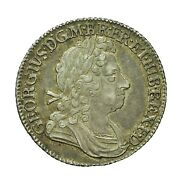 George I Silver Shilling 1723 Ssc S3647