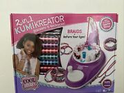 Cool Maker 2 In 1 Kumikreator Bracelet And Necklace Maker Kit Spin To Create New