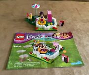 41090 Lego Complete Olivia's Garden Pool Friends Instructions House Add On