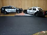 Andnbsp1/24 2015 Ford Explorer And 2010 Crown Victoria Custom Made Into Las Vegas Police