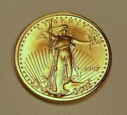 4 2007 Bu 5 American Gold Eagles From Mint Tube Lot 1