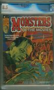 Monsters Of The Movies 2 Cgc 8.5 Ow/w Pages Boris Karloff Article C24350