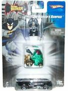 Hot Wheels 164 Scale Batman Series Diecast Cars Set The Riddlerand039s Rampage Wit
