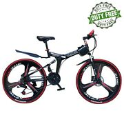 26 Inch Wheel Adult Mountain Bike 24speed Variable Folding Road Sports Bicycle