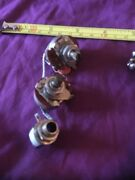 60s 500k Guitar Pots 4w/ Caps 2 Jack And Switch Gibson Es Sg Mm Cba-811-1053