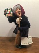 Byers' Choice Carolers 1994 Old Befana Christmas Italian Witch W/ Tags