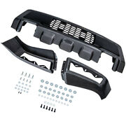Front Bumper Conversion Cover For Raptor Style Gray For Ford F150 Pickup 09-2014