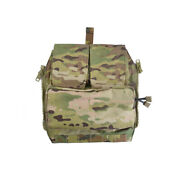 Delustered Crye Cp Pouch Zip-on Panel For Jpc Cpc Avs Molle Zipper Pack Tw-p042
