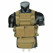 Twinfalcons Tactical Airsoft Mfc 2.0 S Chest Rig Lightweight Low Profile Deluste