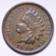 1895 Indian Head Cent Penny Choice Au+ Unc Free Shipping E821 Acl