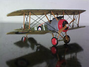 Built 1/72 Wwi Rfc Canadian Ace Roy Brown`s Sopwith F-2 Camel W/ Added Rigging
