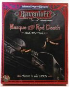 Masque Of The Red Death And Other Tales Adandd 2nd Ed Roleplaying Ravenloft Exp