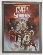 Queen Of The Spiders Advanced Dungeons And Dragons/adandd Supermodule Gdq1-7 Gygax