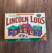 Playskool Frontier Town Lincoln Logs 1996 New Complete Original Box