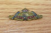 Vintage 1837 To 1897 60 Years Our Queen Victoria Collectible Rare Lapel Pin