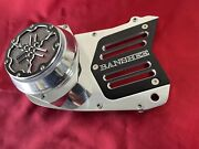Banshee Atv Gorgeous Stator Cover Polished And Black 4 Slots Design Made In Usa