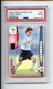 2006 Panini World Cup Germany Lionel Messi 47 1st Wc Card Rookie Psa 9