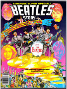 Marvel Comic Super Special 4 The Beatles Story In Vf/nm A 1978 Color Magazine