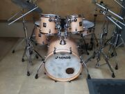Sonor Vintage 1980andrsquos Complete Drum Kit Made In Germany S Class Sq1 9 Ply Birch.