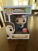 Funko Parks And Recreation Rec Andy Dwyer Mouse Rat Fugitive Toys 500 Piece