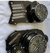 Banshee Atv Gorgeous Combo Clutch Lock Up Cover And Stator Cover Made In Usa