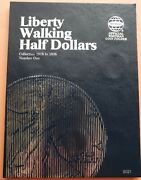 1916-1936 Liberty Walking Collection Book 35 Coins