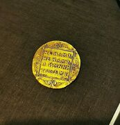 Russian Gold Coin From Russia Chervonets Ducat 1797 Cm Gl Free Shipping