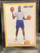 1993 Classic Draft Picks Shaquille O'neal Rookie Card 104