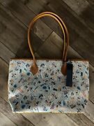 Dooney And Bourke Tote Bag Aulani Exclusive Shave Ice Hawaii Brand New With Tags