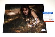 Sara Paxton Autographed 8x10 Color Photo Last House On The Left - Psa Dna