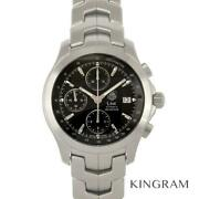 Tag Heuer Cjf2110 Link Chronograph Oh Youand039re Already Automatic Winding Mens