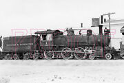 Tonopah And Tidewater Engine 1 At Death Valley, Ca In 1940 - 8x10 Photo