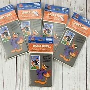 Lot Of 5 Packs Looney Tunes Donald Duck Stamp Collection Refrigerator Magnet