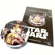 Starwars Empty Can Steam Cream Star Wars Limited Design With Postcard Japan Used
