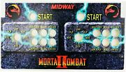 Skinned Mortal Kombat 2 Replacement Control Deck For Arcade1up