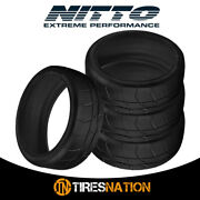 4 New Nitto Nt01 Competition 305/35/18 101w Radial Track Tires